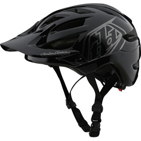 Troy Lee Designs A1 Casco Ragazzi, drone black/silver